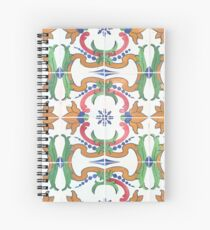 Tiles of Portugal VIII Spiral Notebook