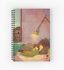 Nap together Spiral Notebook