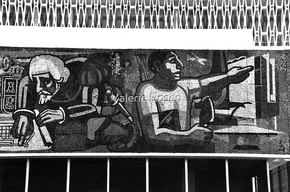 Mosaic in Campeche by Valerie Rosen