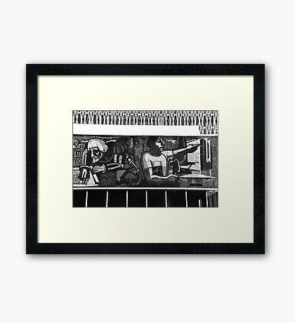 Mosaic in Campeche Framed Print