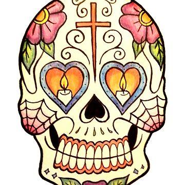 Sugar Skull #2 by rachelshade