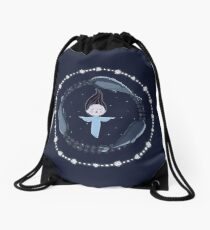 Song of the Sea - Selkie and seals Drawstring Bag