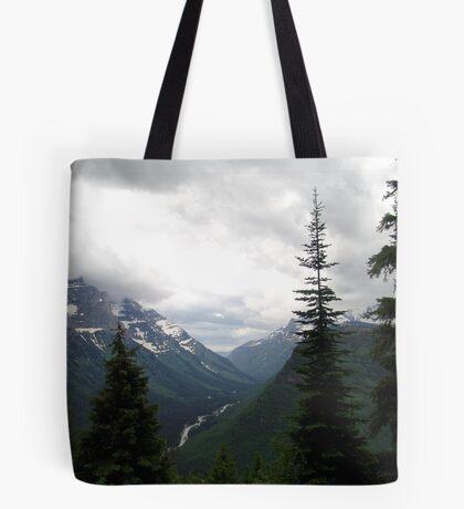 VIEW OF HEAVEN - GLACIER NATIONAL PARK Tote Bag