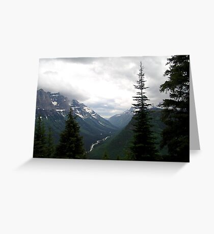 VIEW OF HEAVEN - GLACIER NATIONAL PARK Greeting Card