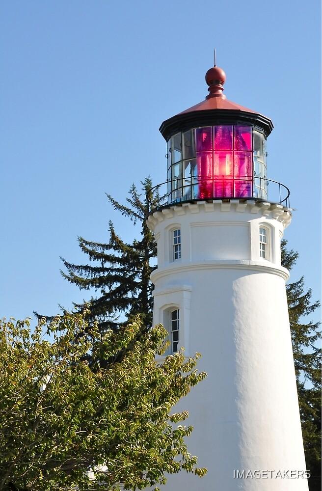 Umpqua River Lighthouse - Bright Shining Light by IMAGETAKERS