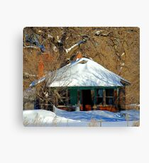 Baby,  It's Cold Outside ! Canvas Print