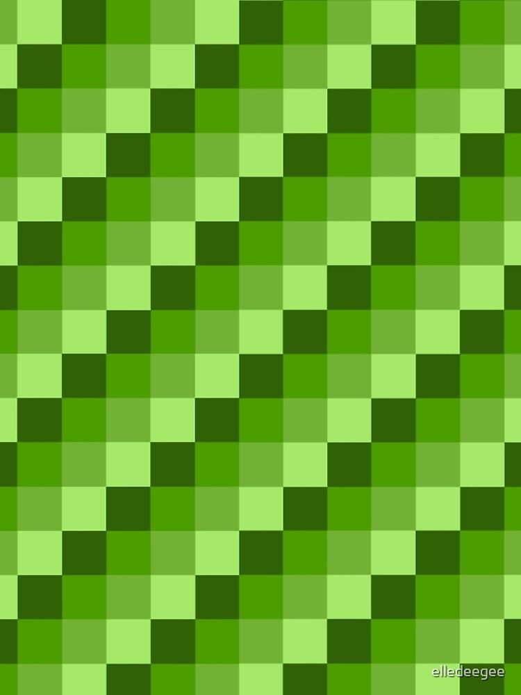Green Blocks by elledeegee