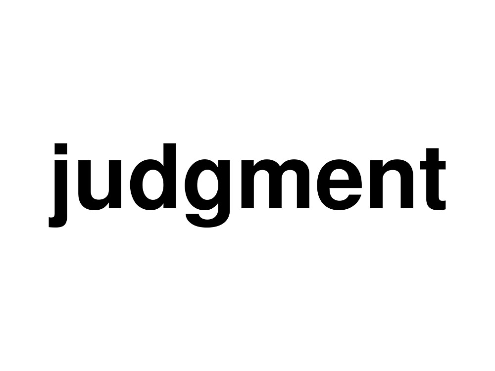 judgment by ninov94