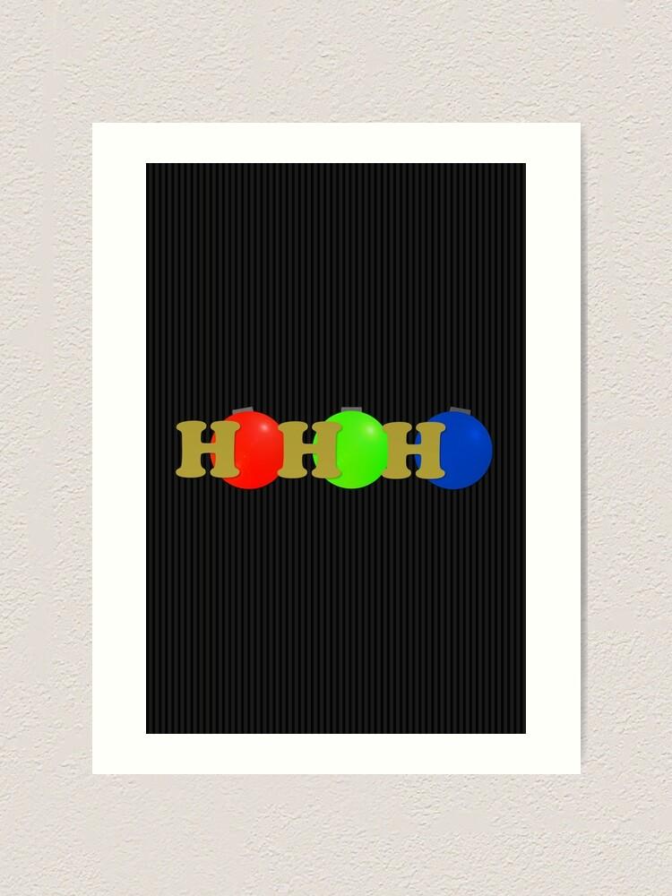 Alternate view of HO HO HO Art Print