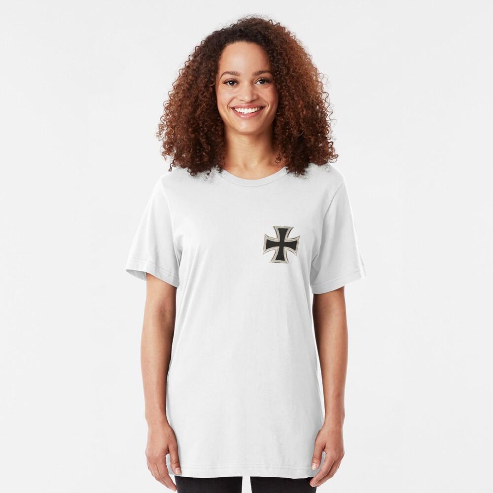 Iron Cross... Germany Slim Fit T-Shirt