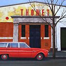 Thonet, Oil on Linen, 71x102cm. by Jason Moad