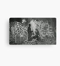 Nativity Scene - Underneath Chandler Highway Metal Print