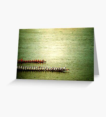 row, phnom penh, cambodia Greeting Card