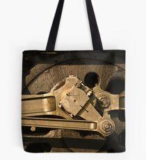 Wheel & gear detail, 3801 Tote Bag