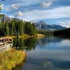 Johnson Lake - Banff National Park by James Anderson