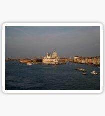 Entering Venice Glossy Sticker