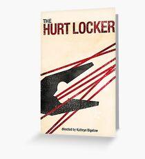 """""""The Hurt Locker""""- minimalist movie poster Greeting Card"""