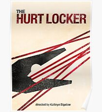 """The Hurt Locker""- minimalist movie poster Poster"
