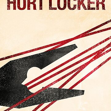 """The Hurt Locker""- minimalist movie poster by jeremy88"