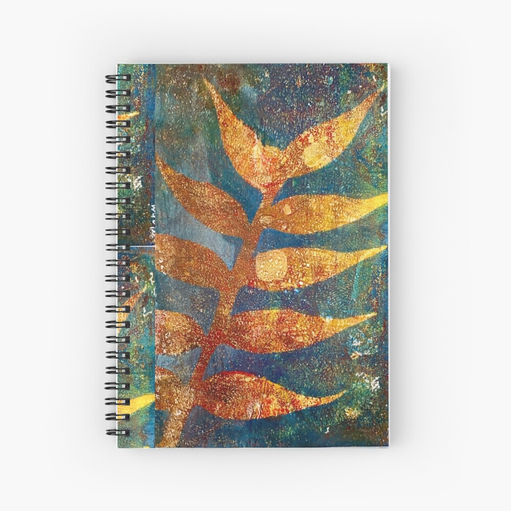 Golden time of the year Spiral Notebook