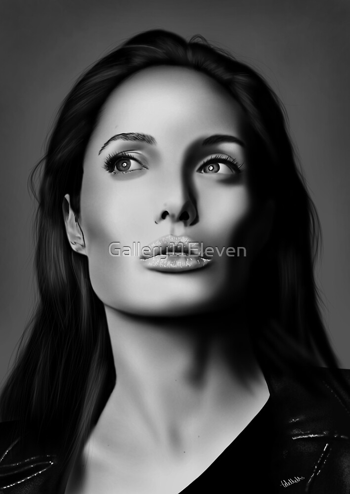 Angelina Portrait by Gallery11Eleven