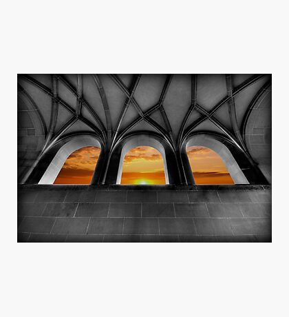 Golden Arches Photographic Print
