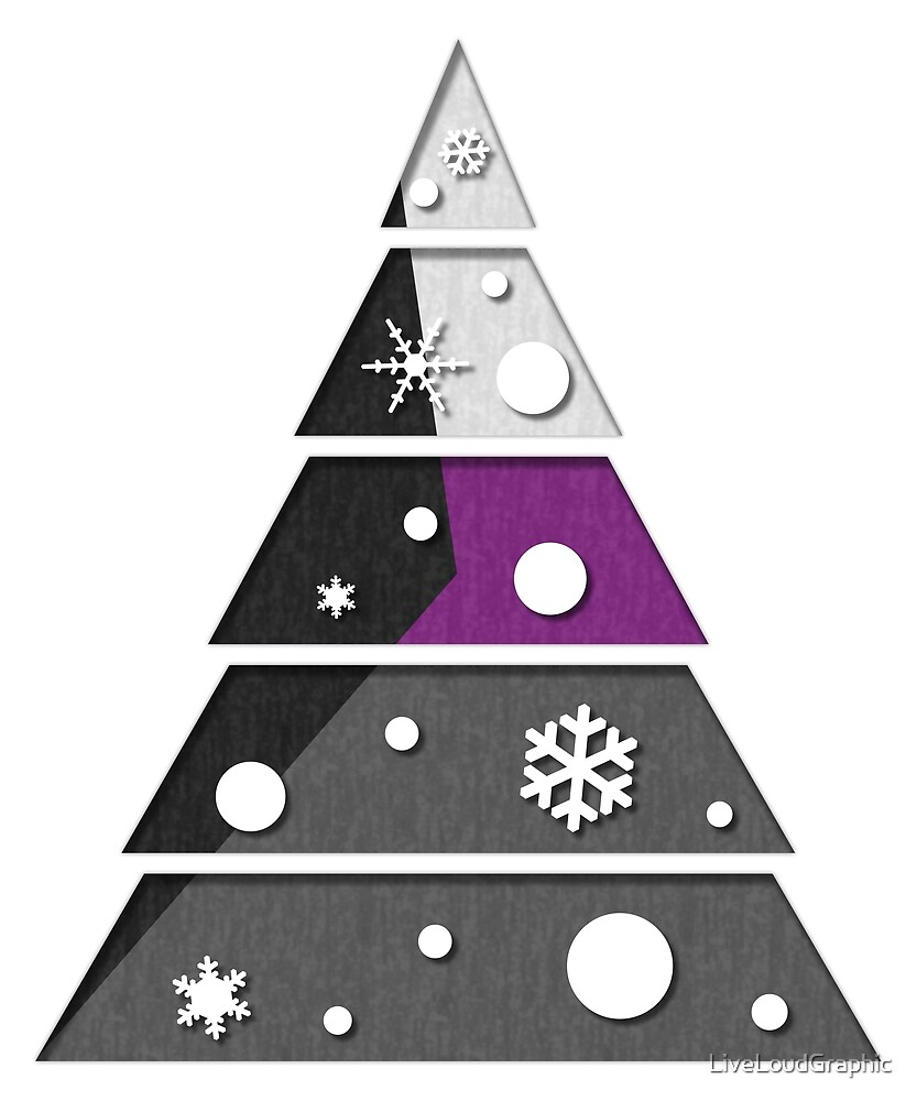 Demisexual Xmas Tree by LiveLoudGraphic
