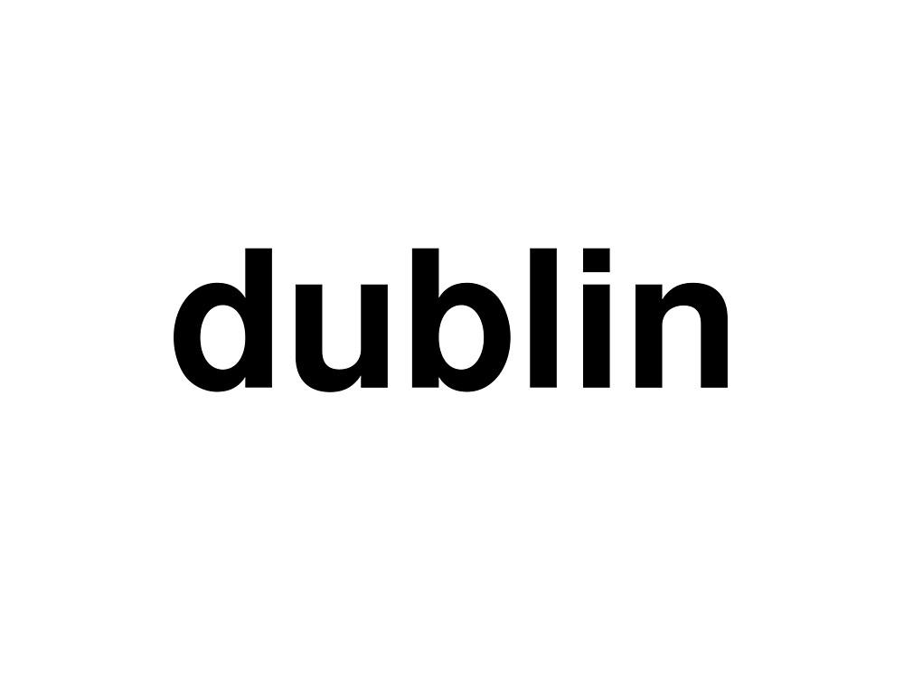 dublin by ninov94