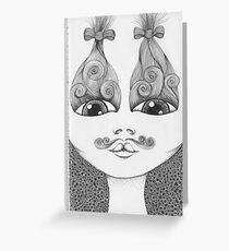 Well Groomed Greeting Card