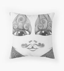 Well Groomed Throw Pillow