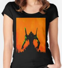 Evangelion Fitted Scoop T-Shirt