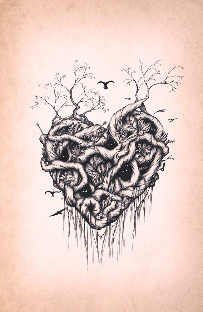 Locked in the Heart by Wrapped-In-Ink