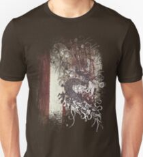 Chinese Dragon - Textured Patterns T-Shirt