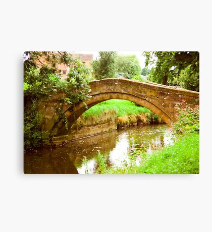 Pack Horse Bridge Canvas Print