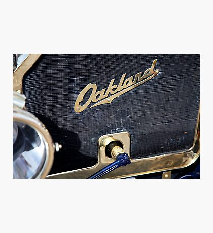 Oakland Grill Photographic Print