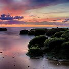 The Boulders of Hunstanton Beach by Ruski