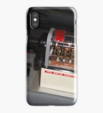 Back To The Future Time Circuit Toggle Switch iPhone Case