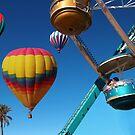 Ferris Wheel Kiss by Carolyn Venditto