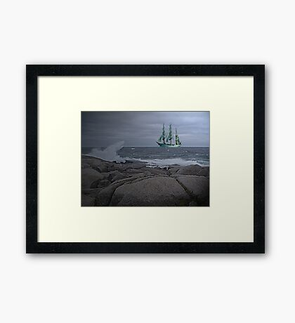 Age of Sail Framed Print