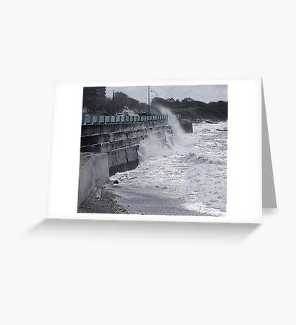 Seawall (2) Greeting Card