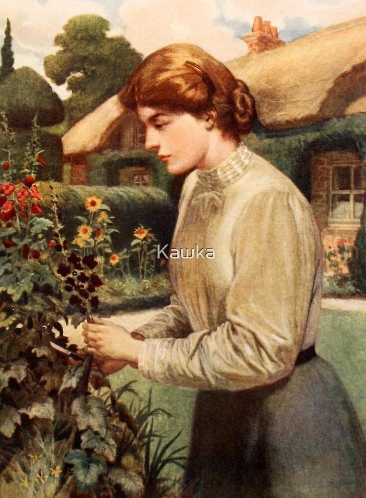 In the Garden by Kawka