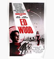 Ed Wood Poster Poster