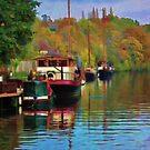 Allington Lock, Sandling by ElsieBell