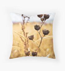 Faith is like a kernel of wheat. Throw Pillow