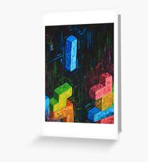Tetris Tribute Greeting Card