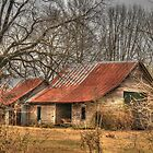 Barn on Hwy 63 Homer GA by Chelei