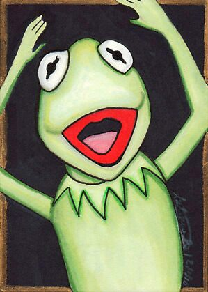 Kermit the Frog  by Thochrein