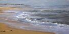 Evening Tide, Powlett Inlet Beach. by Heidi Schwandt Garner