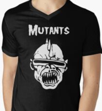 Mutants Fiend Club Men's V-Neck T-Shirt