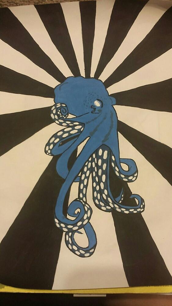 Blue Octopus by RebelKid